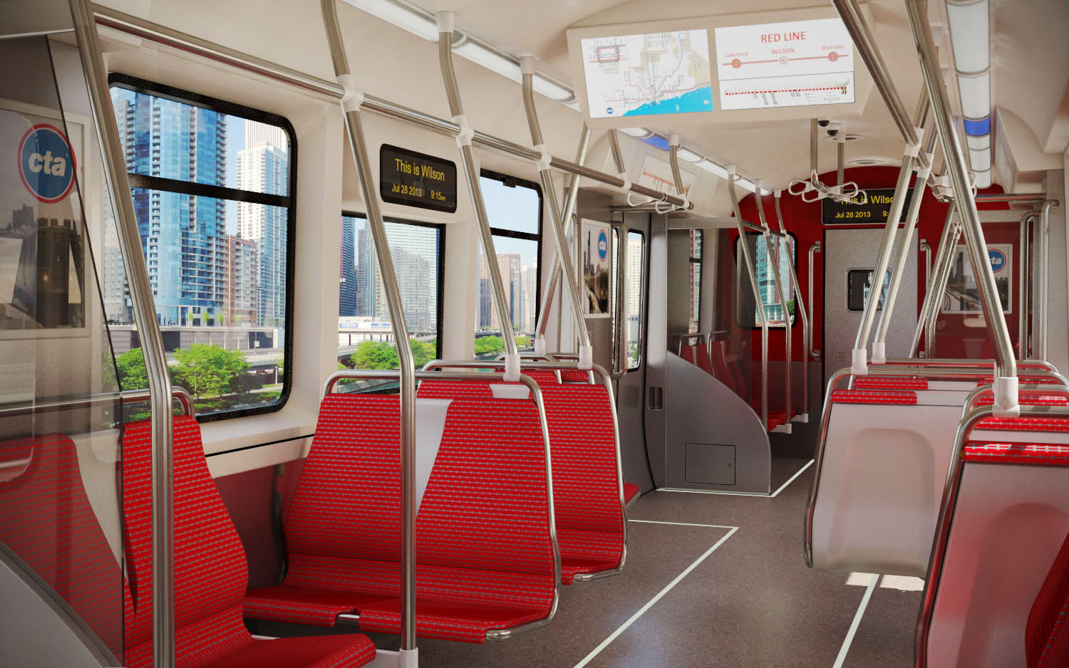 CTA 7000 series – Car Proposal (2013)