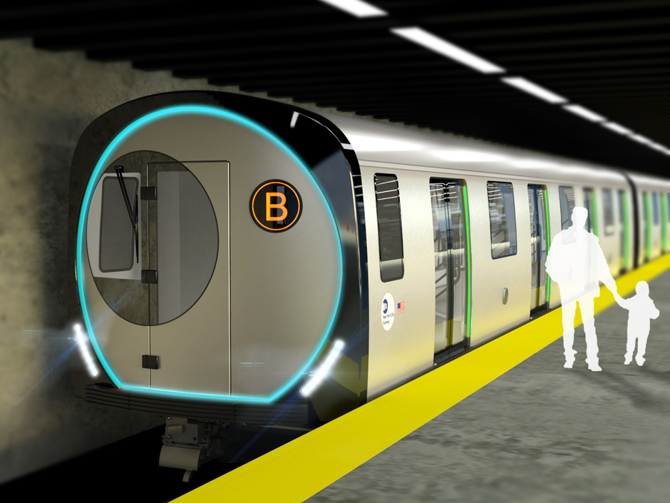 NYCT R211 Subway Car – Concept (2012)