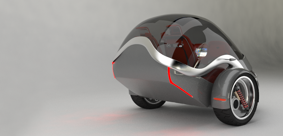 Two (Gyro) – Electric Vehicle