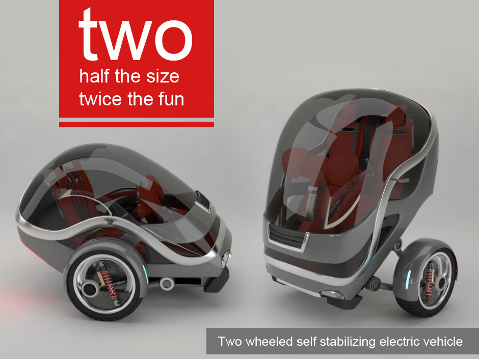 Two (Gyro) – Electric Vehicle (2007)