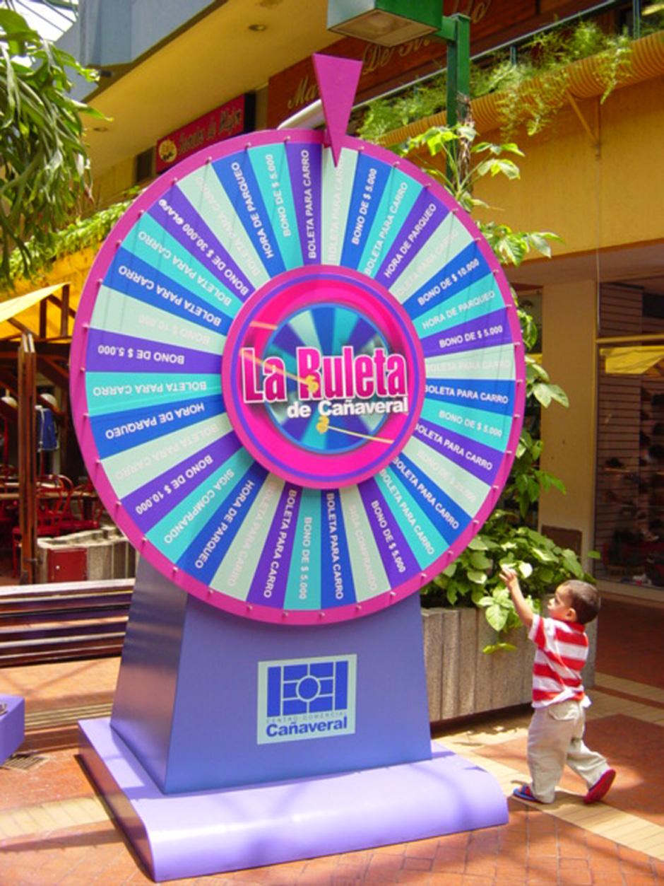 Wheel of Fortune – Canaveral Shopping Mall (2003)